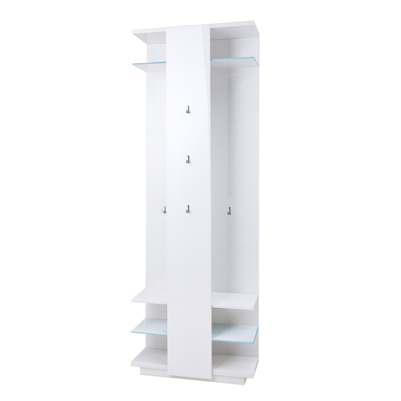 Garderobenpaneel wei hochglanz preisvergleich die for Garderobenpaneel shop