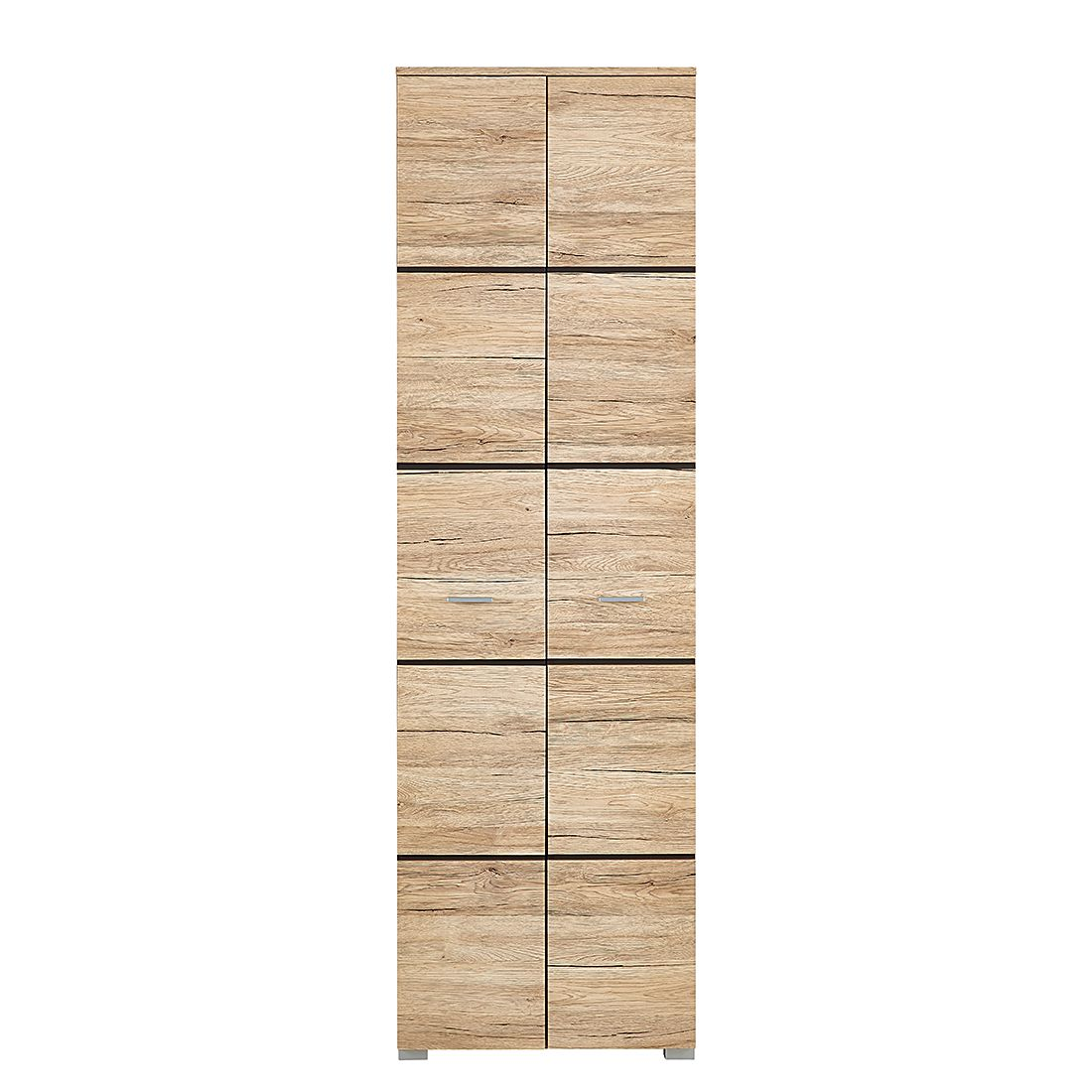 Armoire de vestibule Foresta - Imitation chêne de San Remo, Naturoo