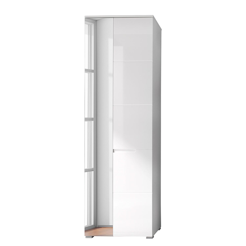 Armoire de vestibule Larado - Blanc brillant, Fredriks