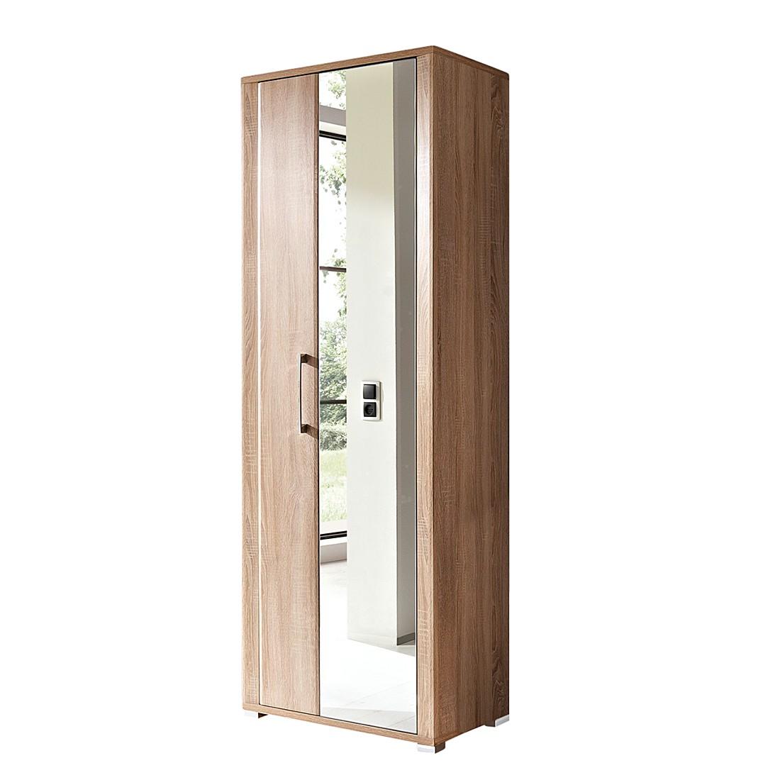 Armoire de vestibule Silkeborg - Imitation chêne, Fredriks