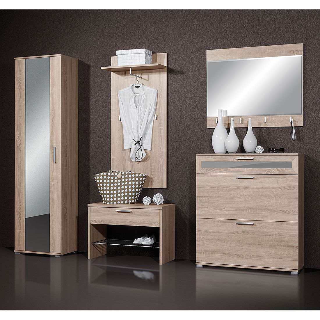 garderoben sets online kaufen m bel suchmaschine. Black Bedroom Furniture Sets. Home Design Ideas