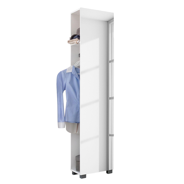 Armoire de vestibule Diona II - Blanc - Blanc, Schildmeyer