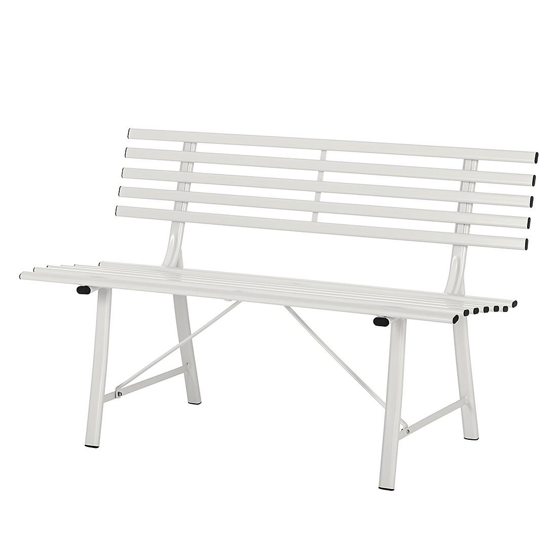 Gartenbank Parkslope - Weiß, mooved