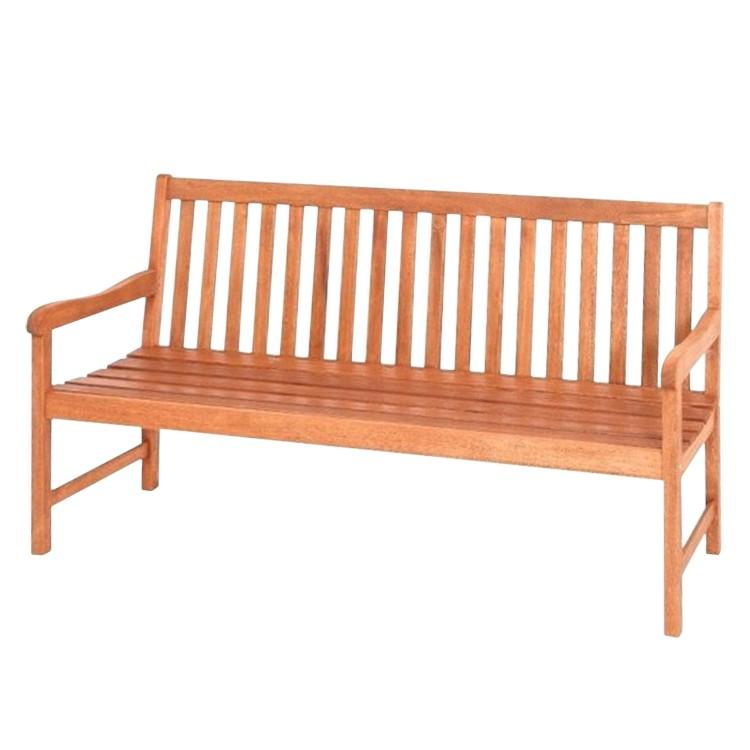 gartenbank santos 3 sitzer eukalyptus massiv merxx. Black Bedroom Furniture Sets. Home Design Ideas