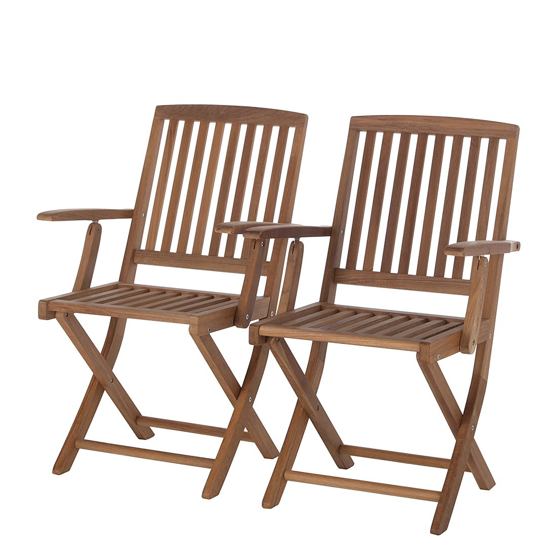 gartenklappstuhl teak line liviko 2er set teak ars natura g nstig. Black Bedroom Furniture Sets. Home Design Ideas