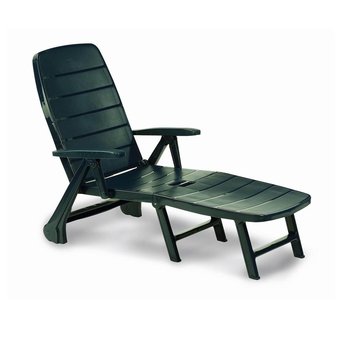 Sedia sdraio lettino pieghevole in plastica bica prezzi - Sdraio in plastica da giardino ...