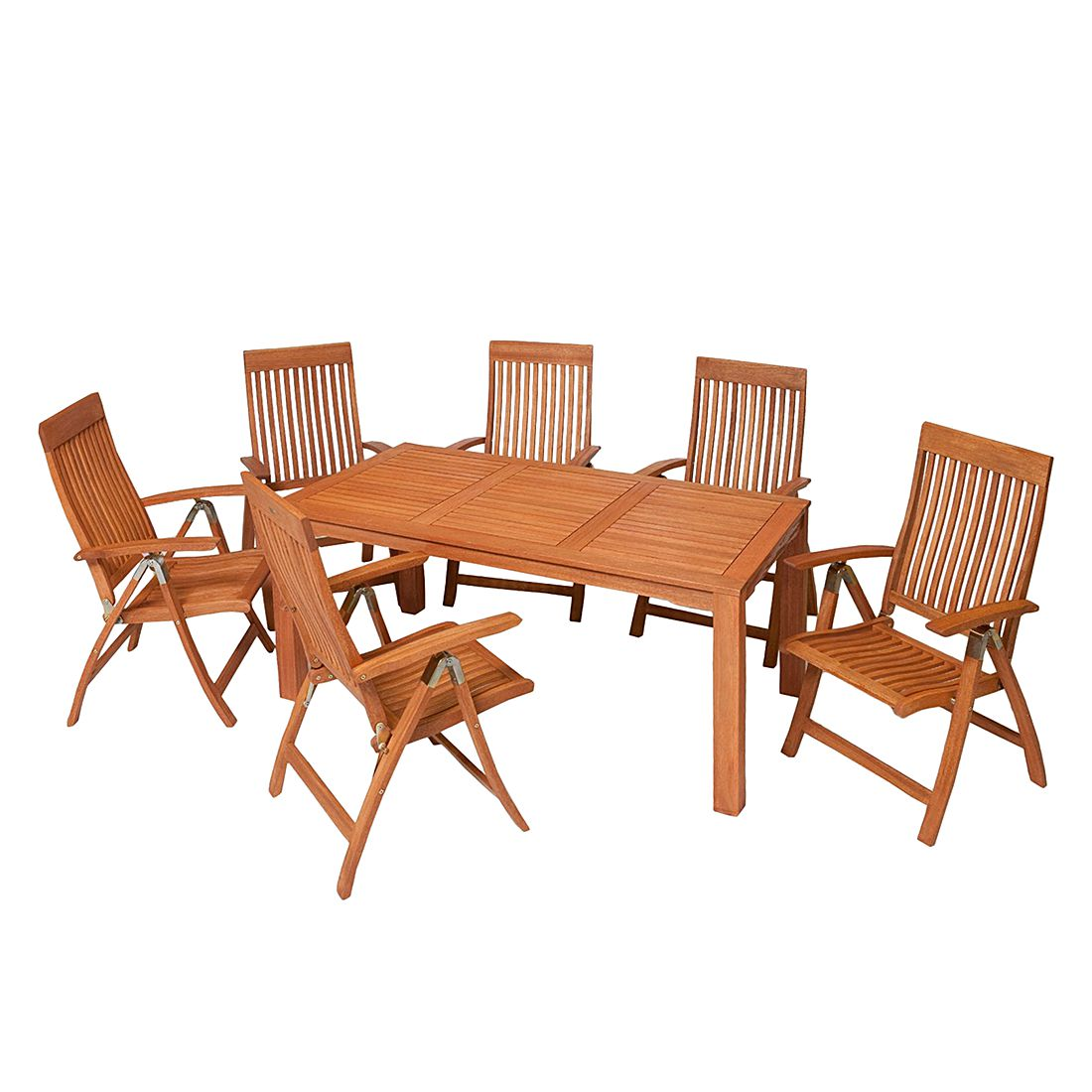 gartensitzgruppe comodoro 7 teilig eukalyptus merxx jetzt kaufen. Black Bedroom Furniture Sets. Home Design Ideas
