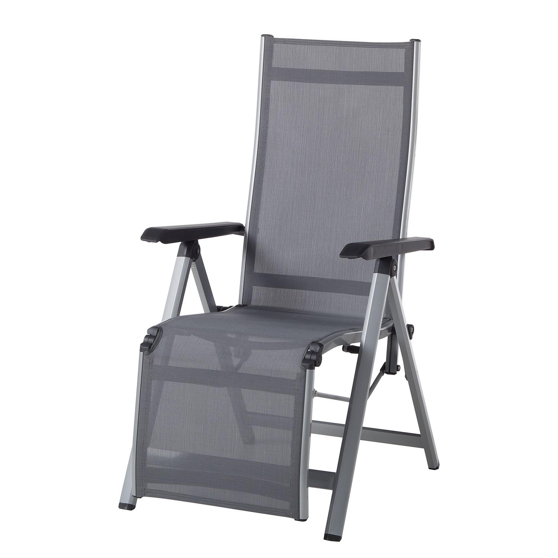 Chaise de jardin Friends II - Aluminium / Fibres synthétiques - Aluminium / Anthracite, Kettler