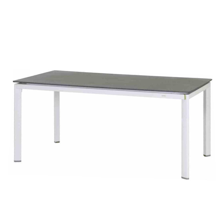 Gartentisch Alutapo - Aluminium - Grau, Mwh
