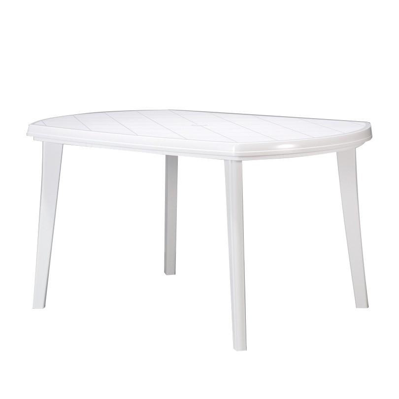 Gartentisch Elise - Kunststoff Weiß, Jardin