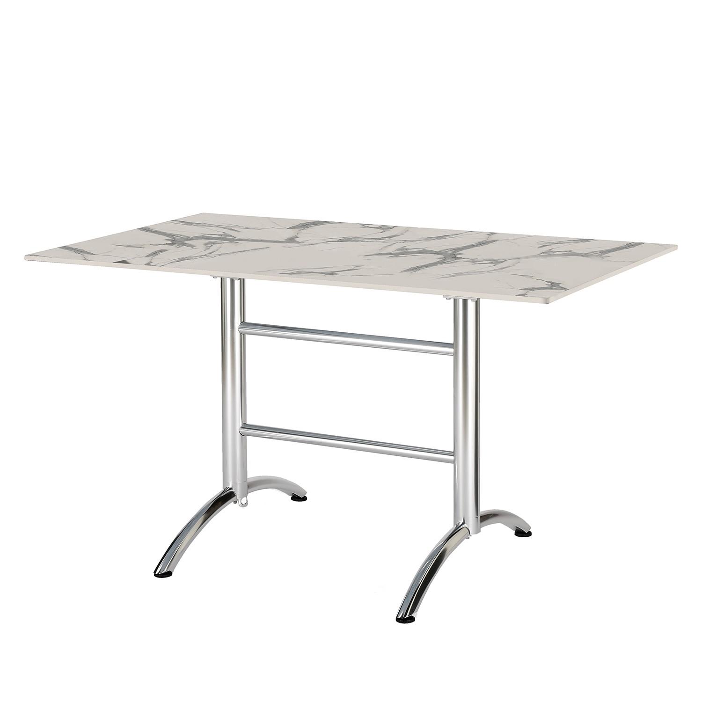 Marmor gartentisch for Gartentisch marmor