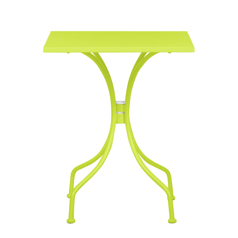 Tavolo da giardino Jovy - Metallo Verde pastello, mooved