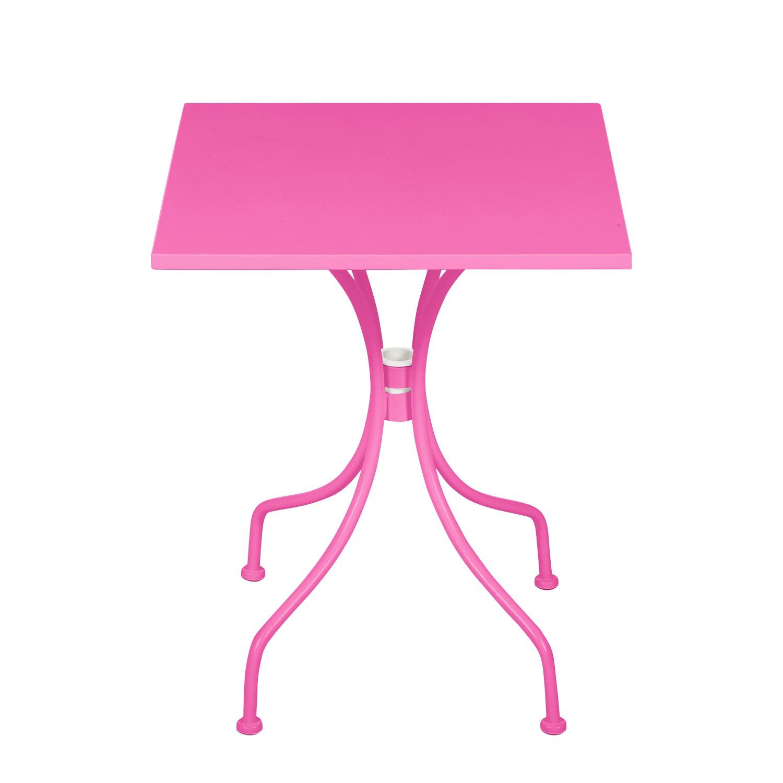 Gartentisch Jovy - Metall Pink, mooved