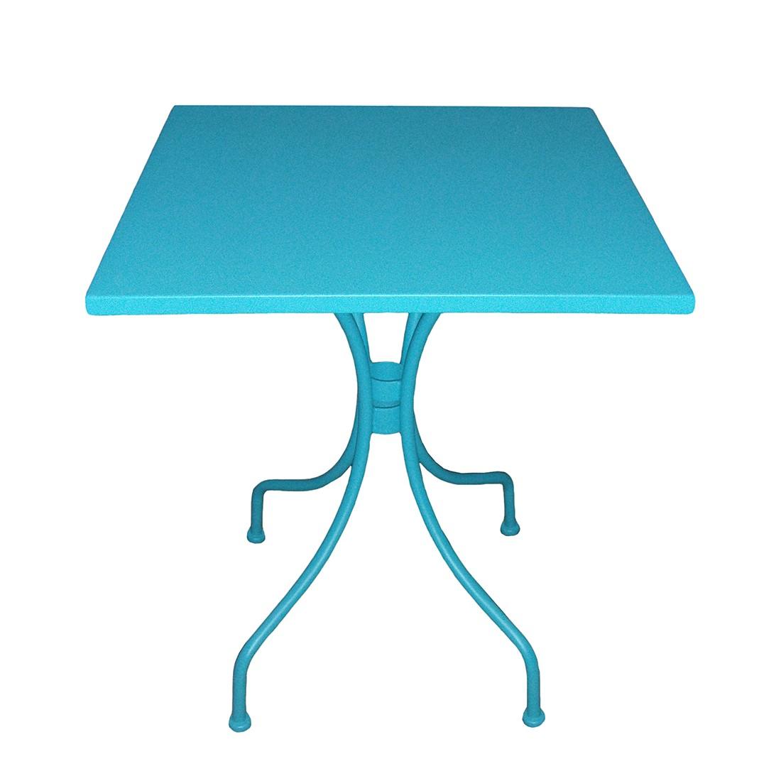gartentisch jovy metall t rkis mooved jetzt kaufen. Black Bedroom Furniture Sets. Home Design Ideas