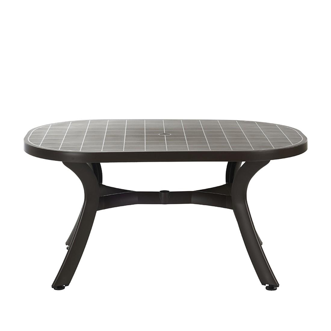 gartentisch kunststoff wei oval perfect gartentisch lima. Black Bedroom Furniture Sets. Home Design Ideas