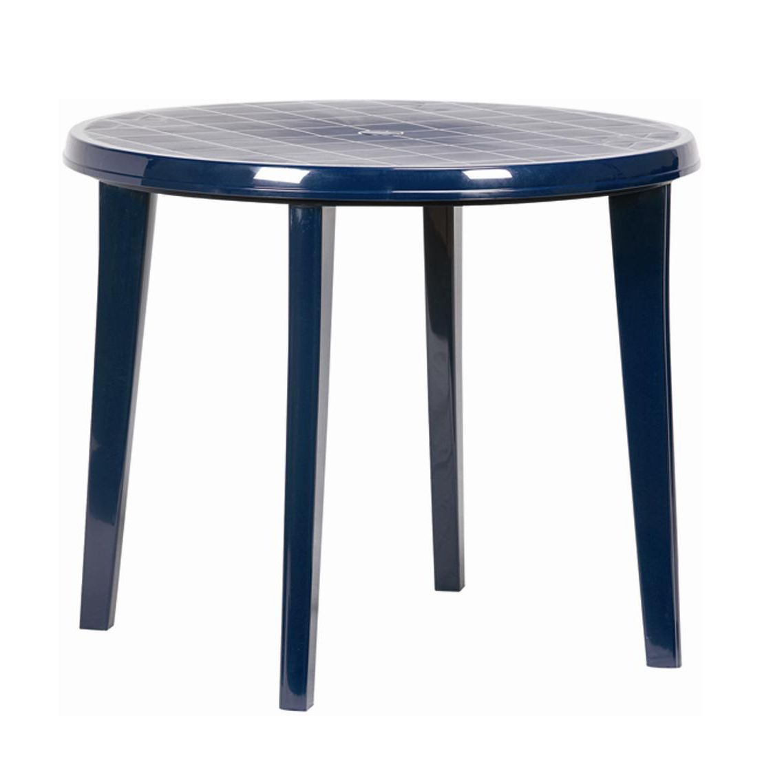 Gartentisch Lisa - Kunststoff - Blau, Jardin
