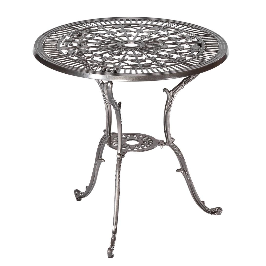 Table de jardin Lugano - Aluminium coulé, Merxx