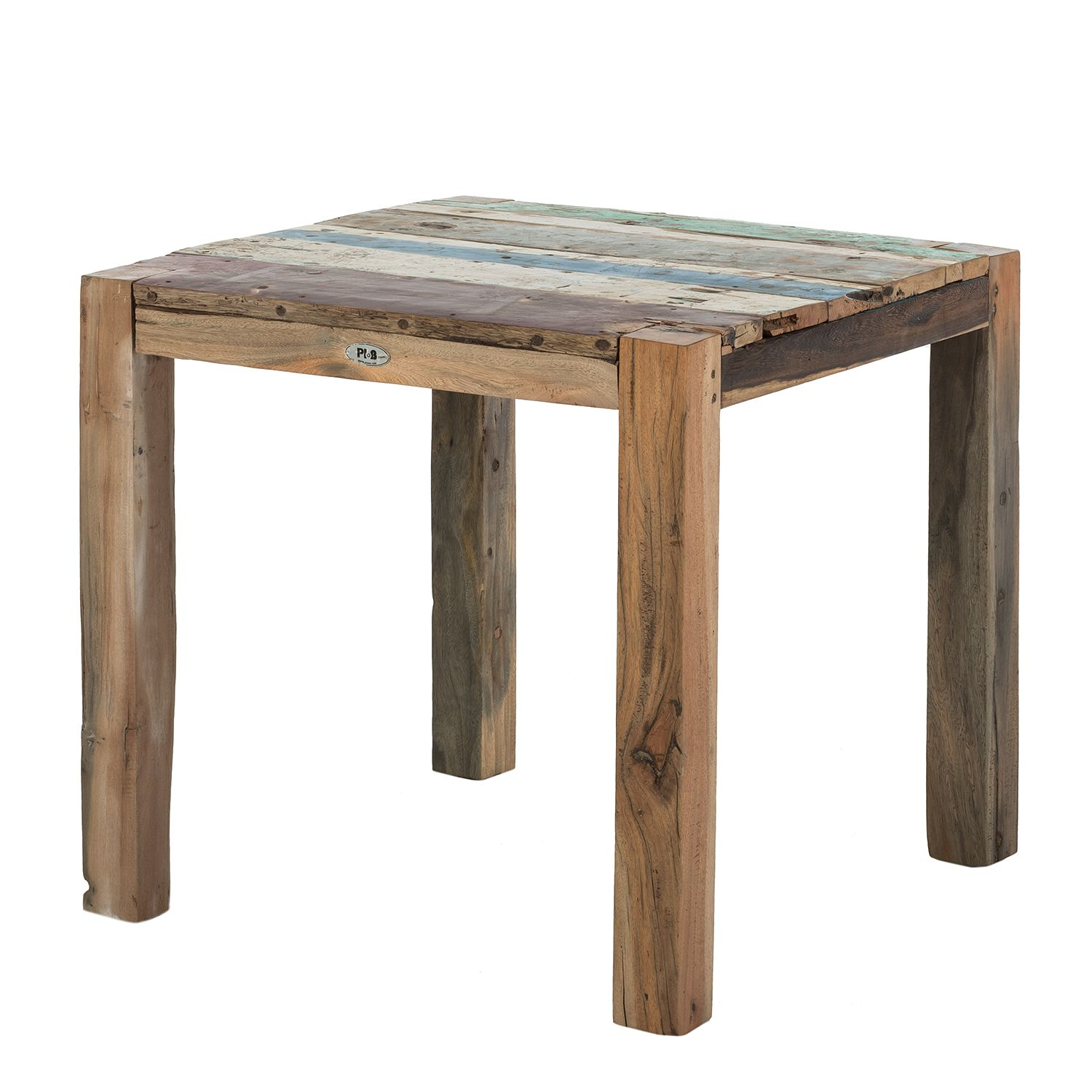 Table de jardin Seaside - Teck massif 80 cm, Ploß