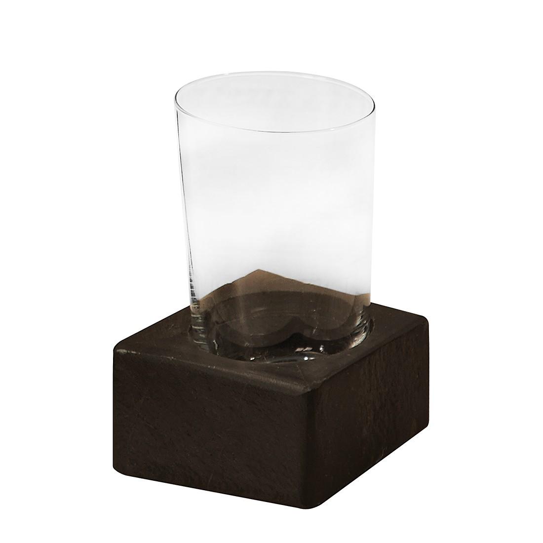 Glas Petra - met sokkel antracietkleurig, Nicol Wohnausstattungen
