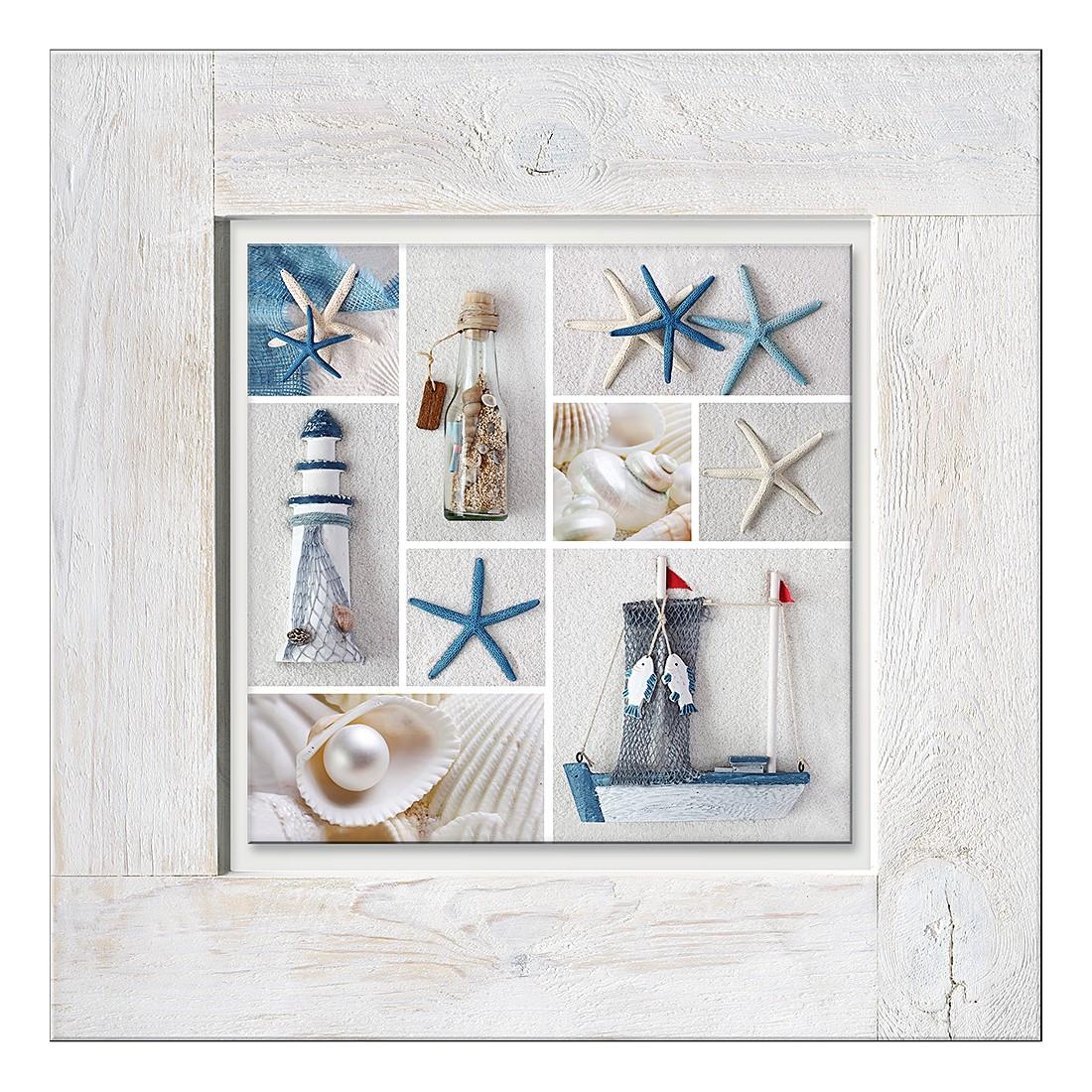 Home 24 - Sous-verre maritim mix i, pro art