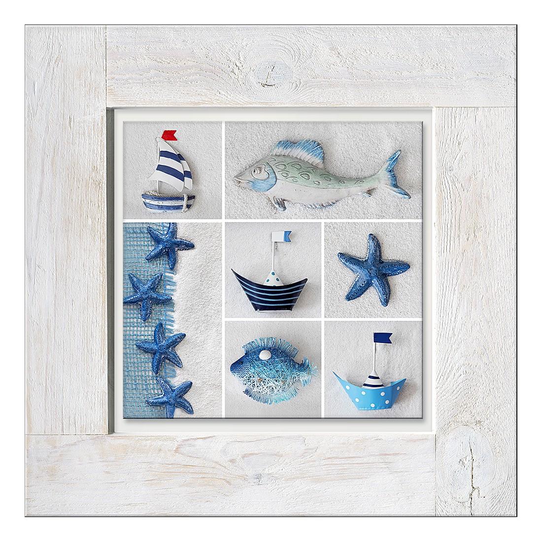 Home 24 - Sous-verre maritim mix ii, pro art