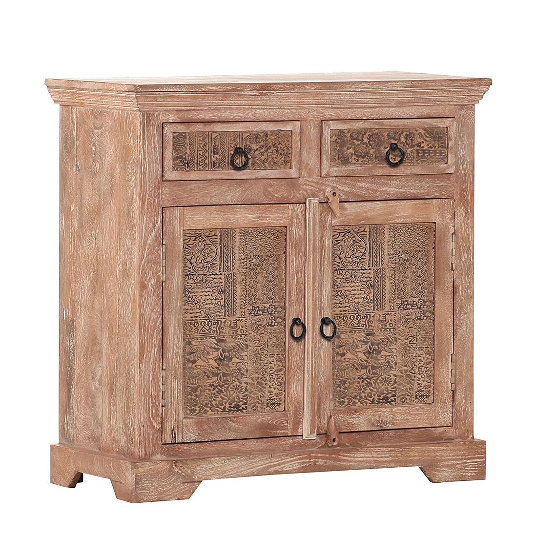 commode bansari manguier partiellement massif brown. Black Bedroom Furniture Sets. Home Design Ideas