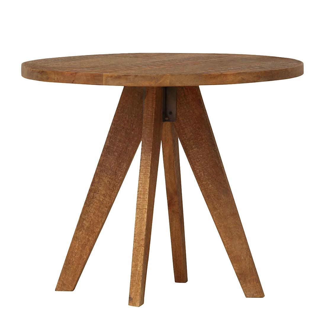 Tavolino da salotto Script - Legno massello di mango decapato e verniciato, ars manufacti