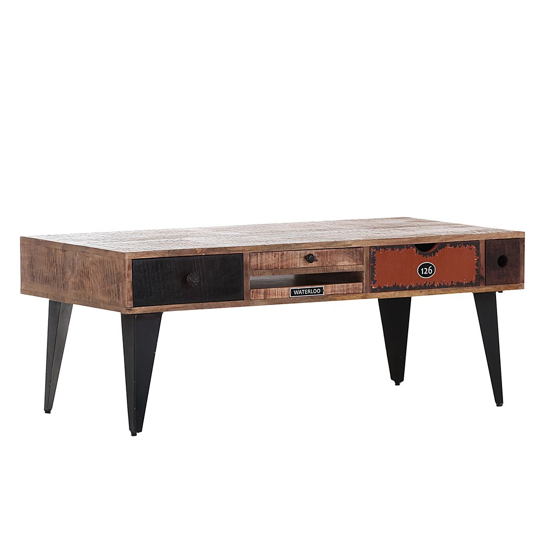table basse subway manguier massif ars manufacti par ars manufacti chez home24 fr. Black Bedroom Furniture Sets. Home Design Ideas