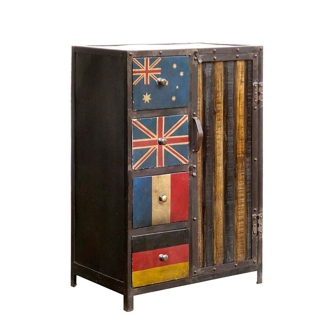 Commode Bandera II - Fer, ars manufacti