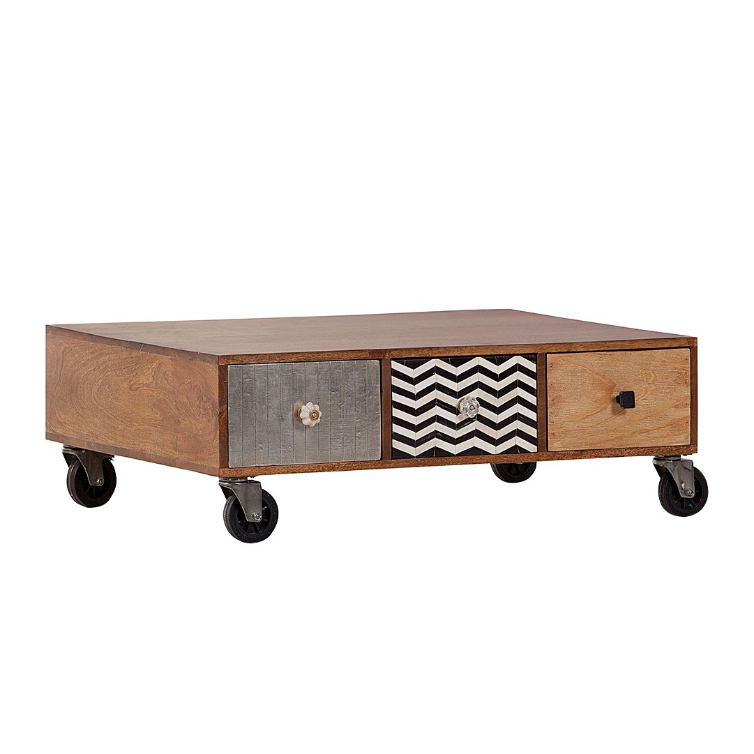 Table basse History - Partiellement massif, ars manufacti