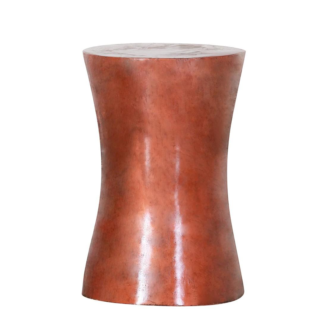 Tavolino Morgenland II - Legno massello di quercia - Rame, Red Living