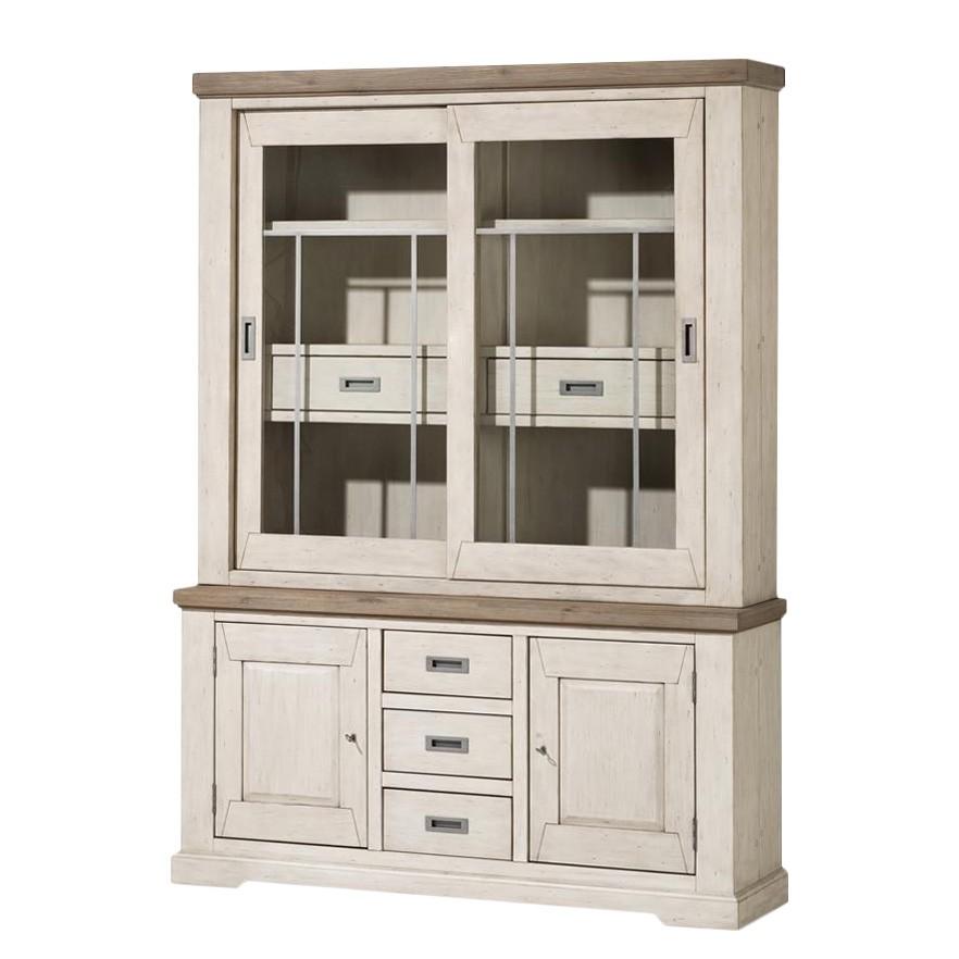 buffetschrank grau buffetschrank 108x197x45cm 2 holzt ren. Black Bedroom Furniture Sets. Home Design Ideas