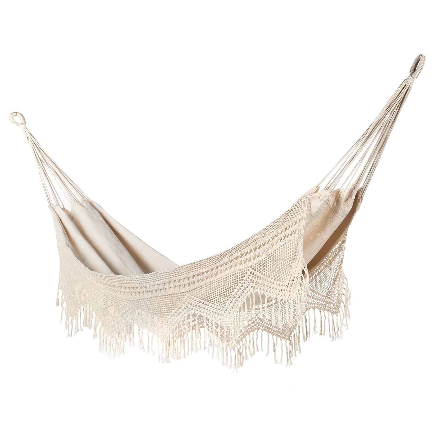 Hangmat Seyne - katoen - crèmekleurig, Eva Padberg Collection