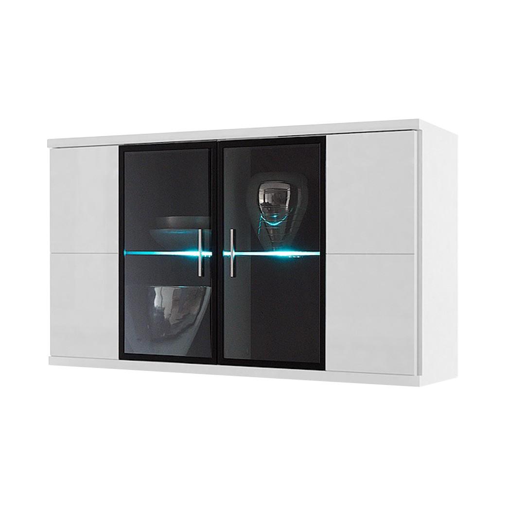 Hangkast Corana - 2 vitrinedeuren - verlichting niet inbegrepen, Fredriks