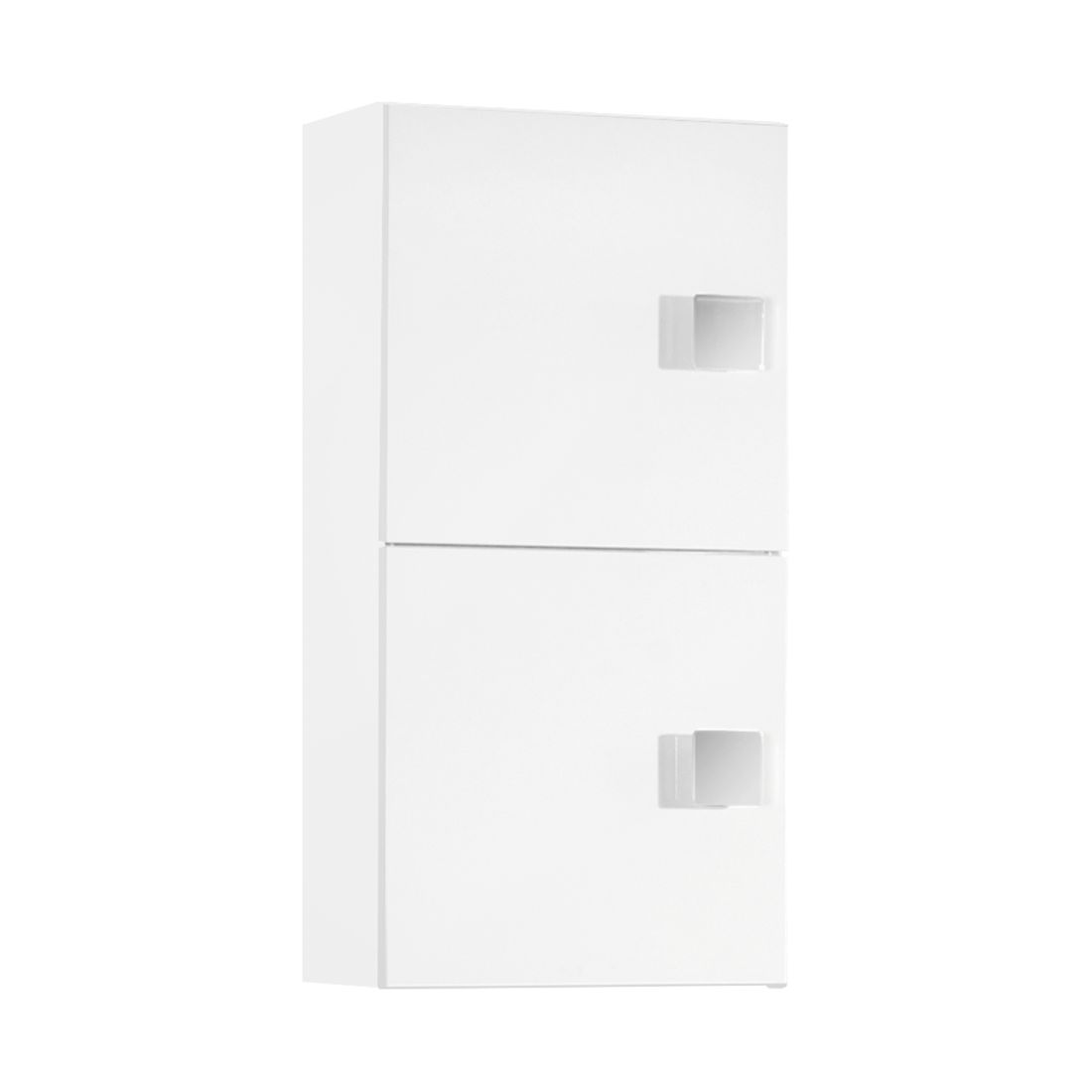 Hangkast Genf   glanzend wit wit   2 deurs_ Schildmeyer