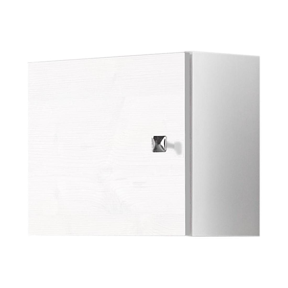 Hangkast Montreal hoogte: 32cm glanzend wit, Schildmeyer