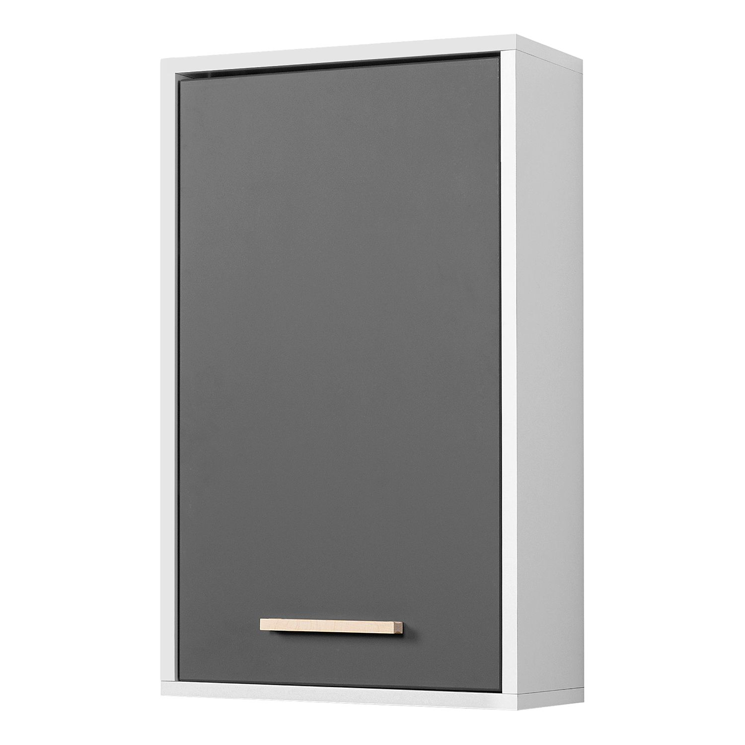 Armoire suspendue Oslo I - Gris mat, Giessbach