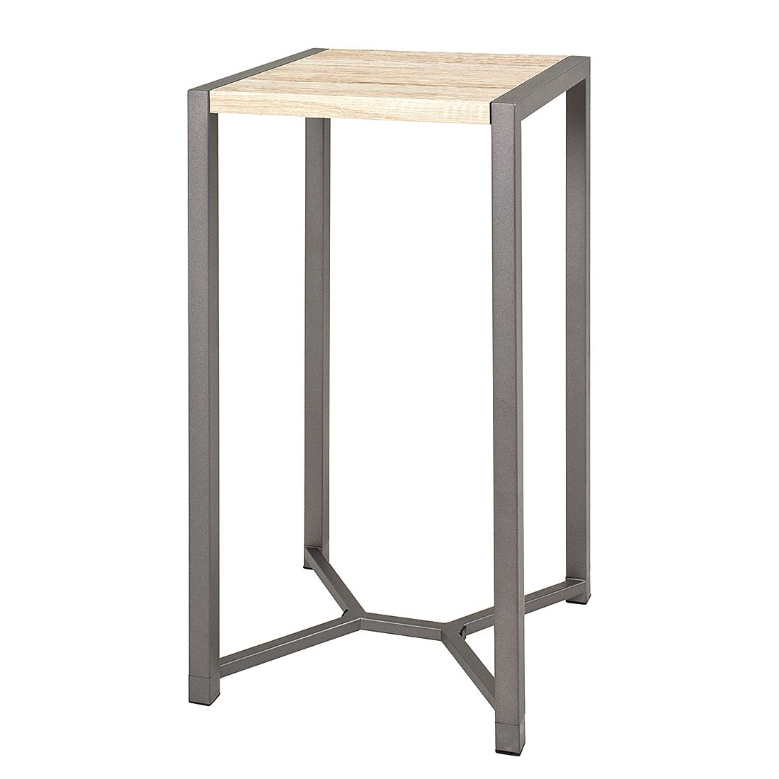 Table d'appoint Tammy III - Imitation chêne de San Remo / Anthracite, Home Design