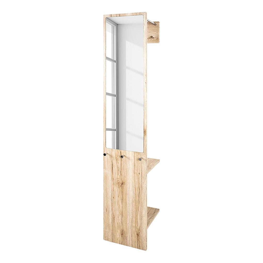 Wandgarderobe Armando - San Remo eikenhouten look, Home Design