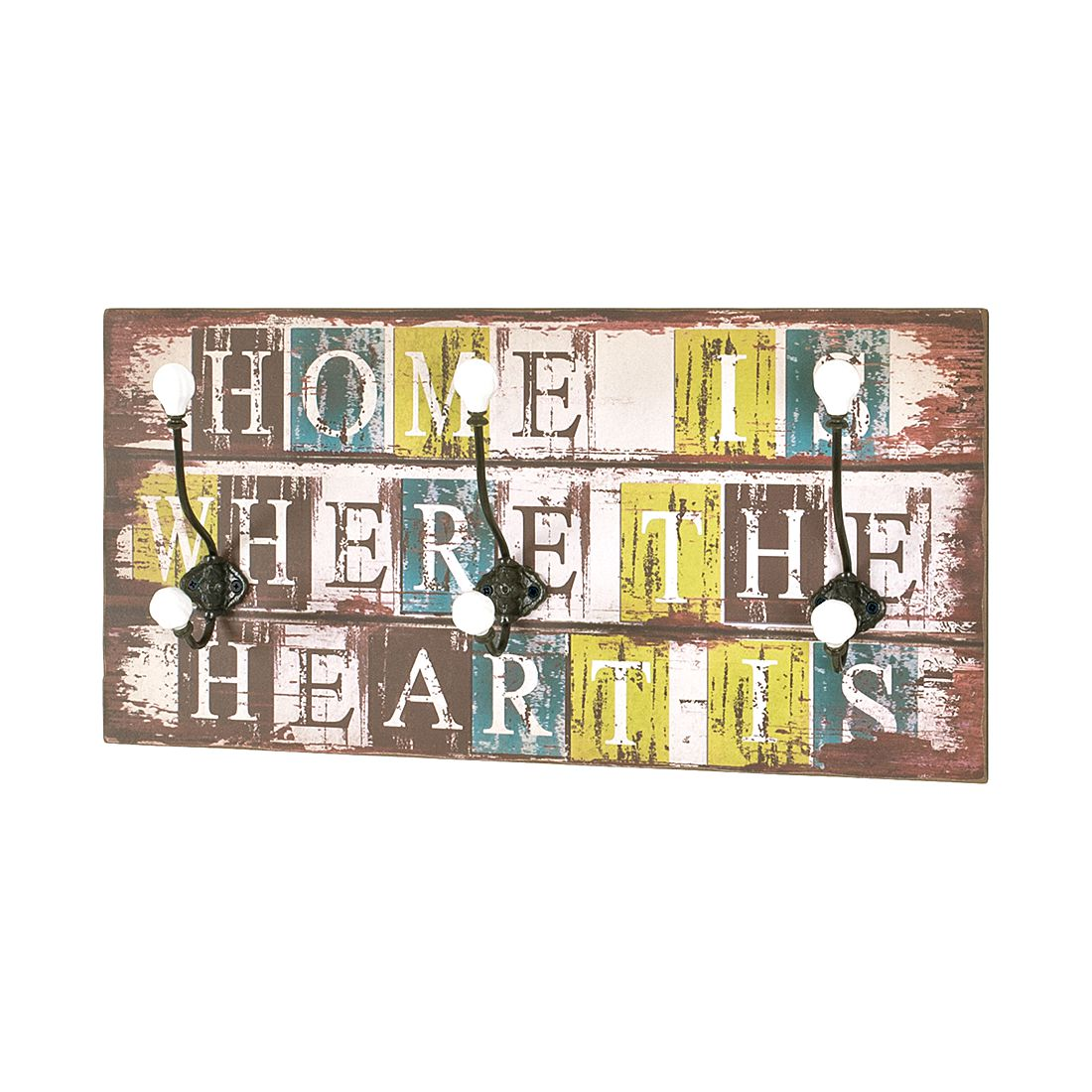 Home 24 - Portemanteau mural corazon vintage i, home design