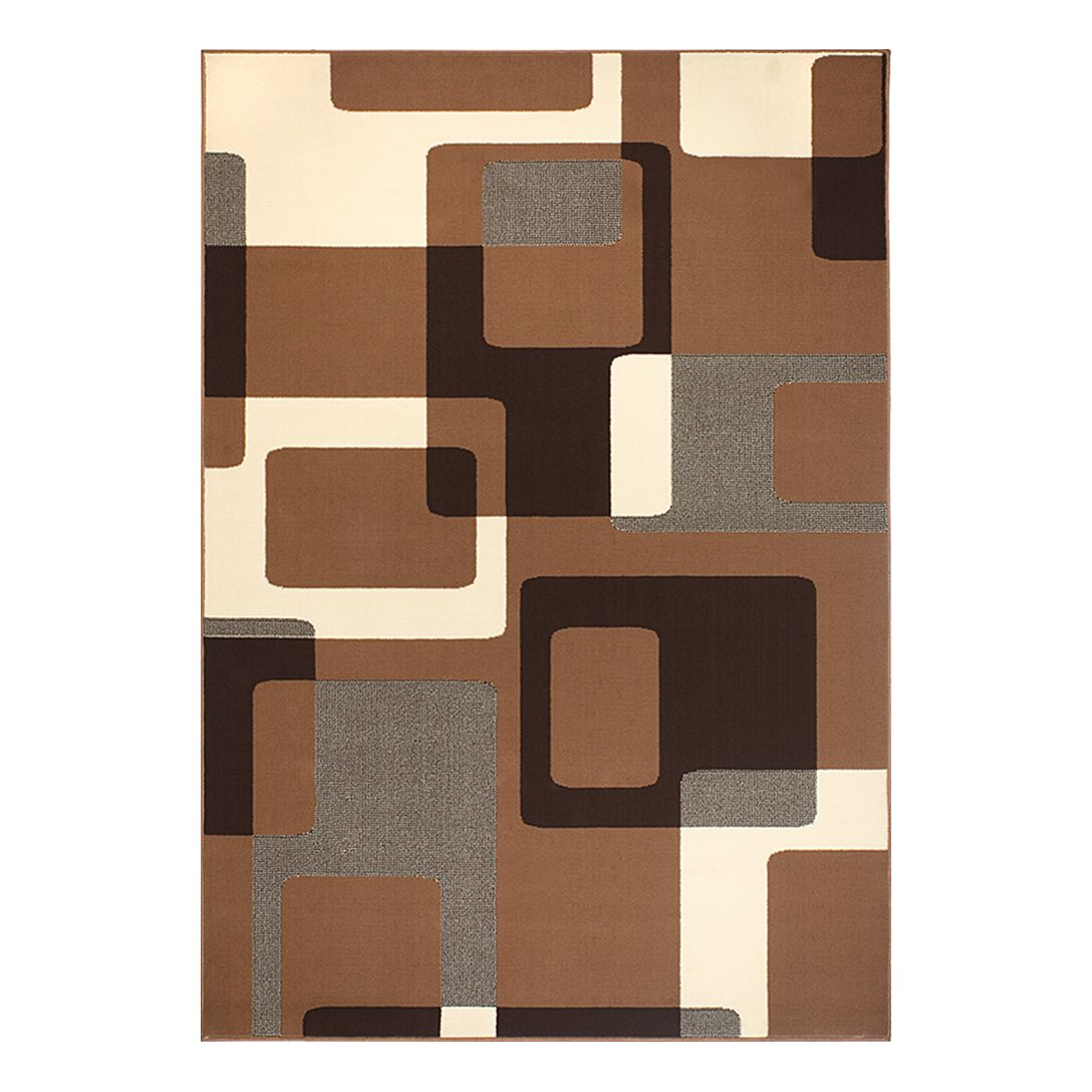 Tapijt Retro - bruin/beige - 80x150cm, Hanse Home Collection