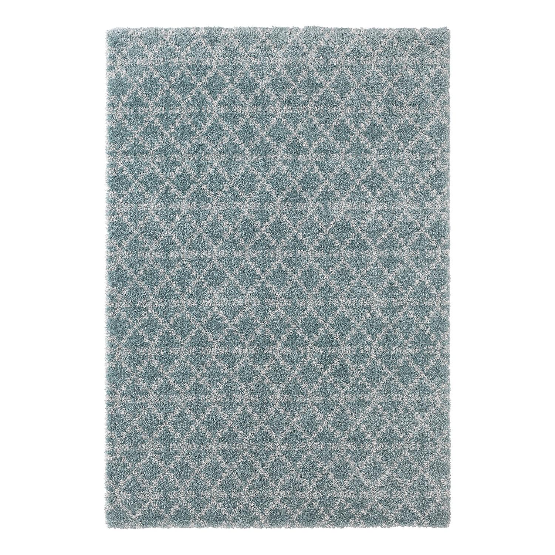 Teppich Cameo - Kunstfaser - Petrol - 120 x 170 cm, mooved