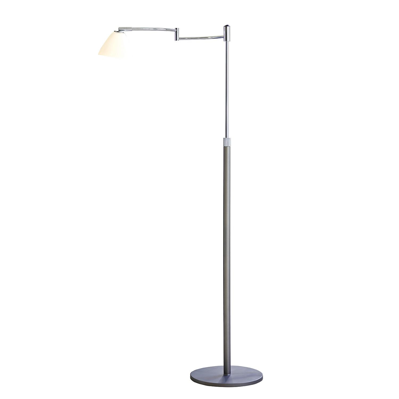EEK C, Lampadaire New Swing - Verre / Métal - 1 ampoule, Herstal