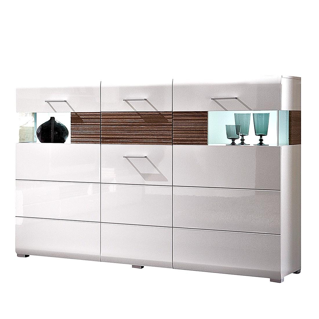highboard weiss hochglanz preis vergleich 2016. Black Bedroom Furniture Sets. Home Design Ideas