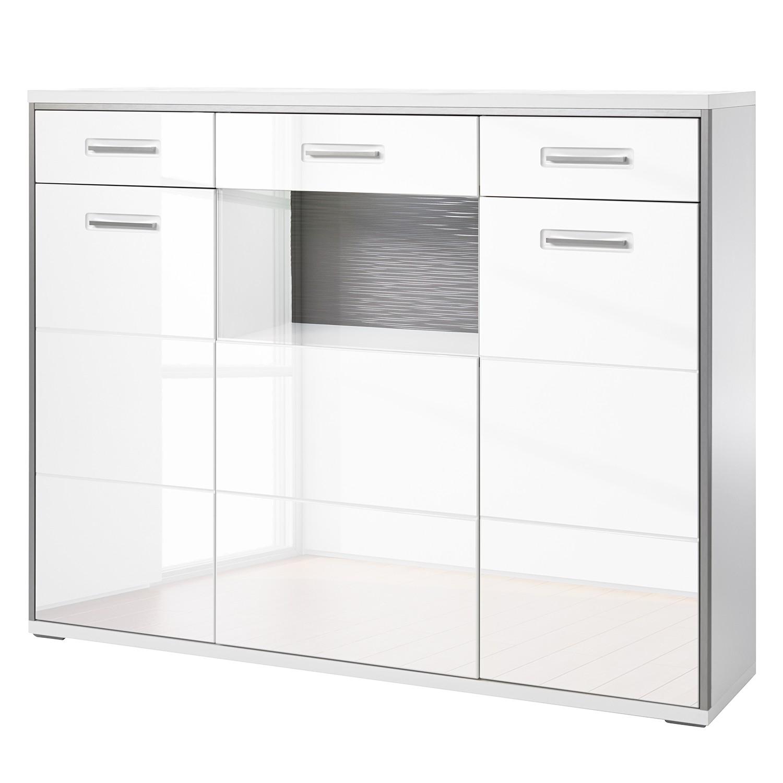 hochglanz highboard grau preisvergleiche erfahrungsberichte und kauf bei nextag. Black Bedroom Furniture Sets. Home Design Ideas