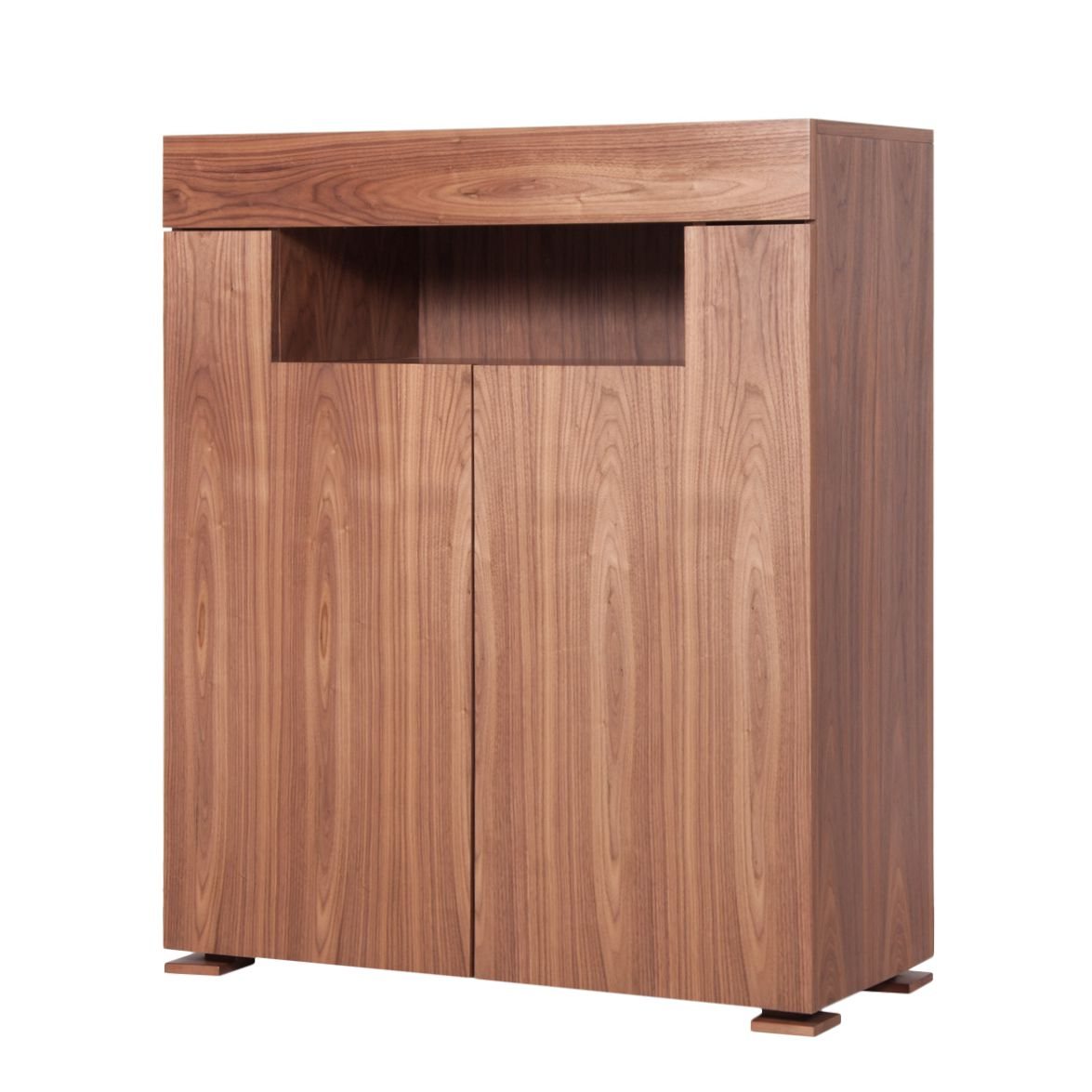 Highboard Palermo - Walnuss