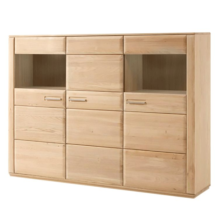 Highboard Structura - Eiche Bianco, Ars Natura