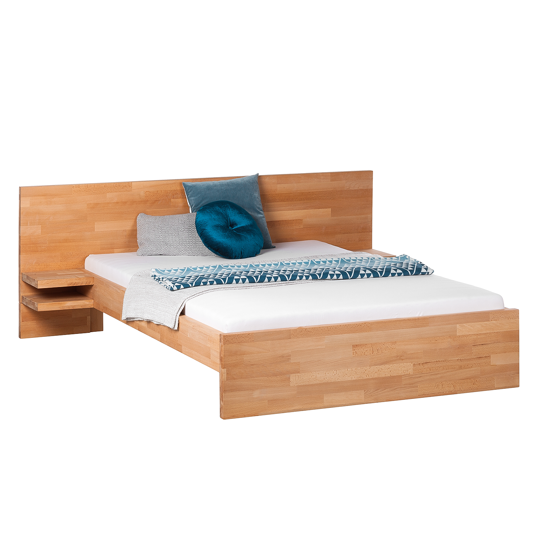 massivholzbettgestell tessawood buche bettrahmen doppelbett ebay. Black Bedroom Furniture Sets. Home Design Ideas