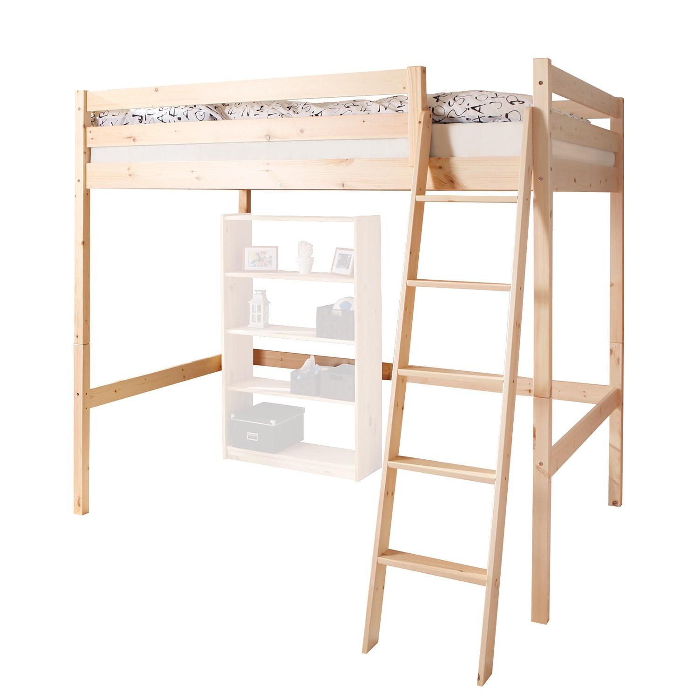 hochbett kiefer preisvergleich die besten angebote online kaufen. Black Bedroom Furniture Sets. Home Design Ideas