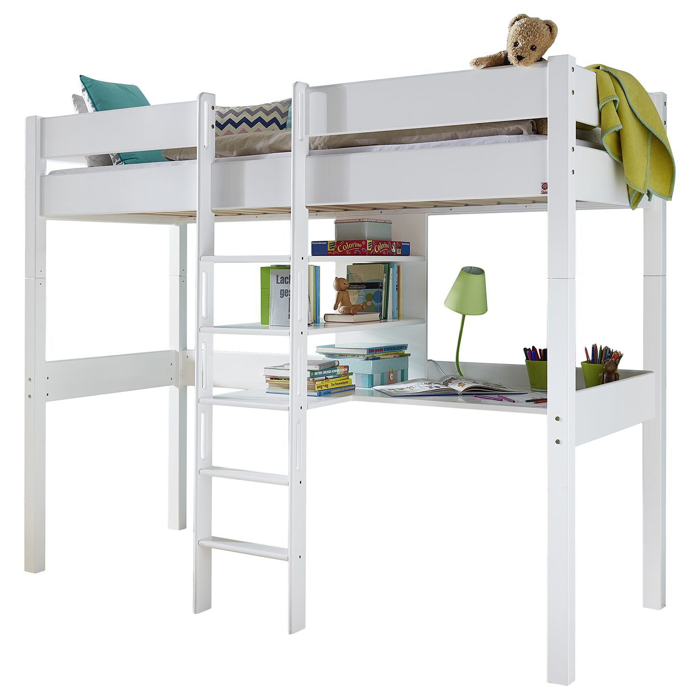 hochbett weiss preisvergleich die besten angebote online. Black Bedroom Furniture Sets. Home Design Ideas